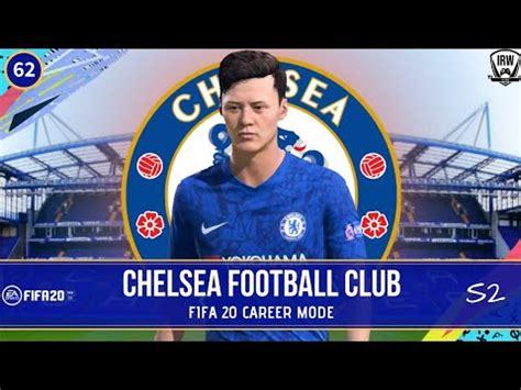 fifa  chelsea career mode ethan white pemain youth