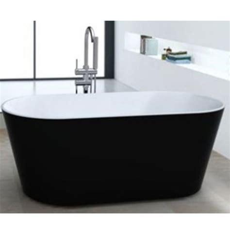 black freestanding bathtub freestanding bath black oms 882 1700b