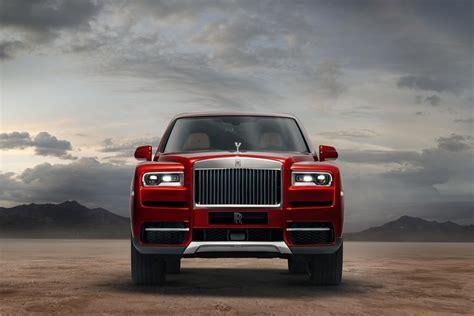 rolls royce cullinan luxury suv unveiled