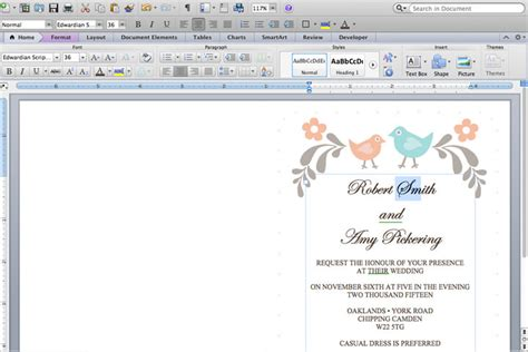 how to make place cards on microsoft word diy tutorial free printable invitation and rsvp card