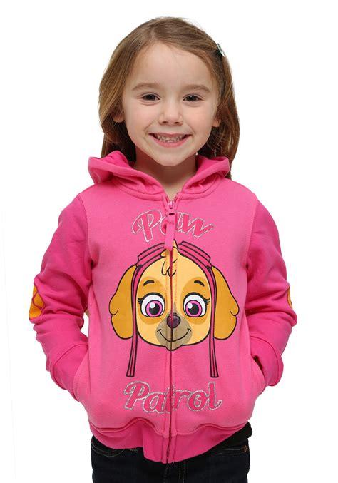 paw patrol toddler hoodie