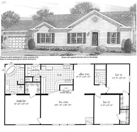 tradewinds xt or tlb home floor plan manufactured and