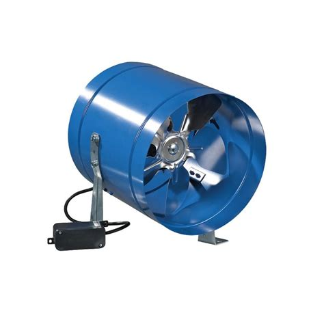 vents us 262 cfm power 8 in metal axial in line duct fan