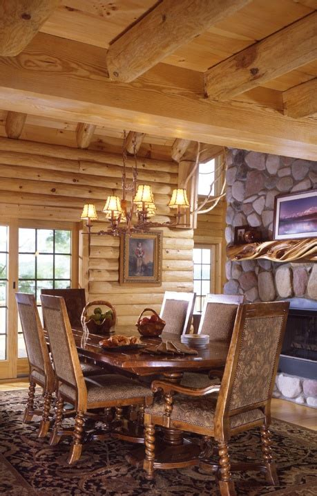 log cabin dining room 17 best images about deluxe dining on cabin