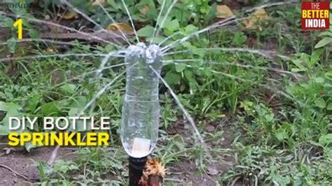 diy bottle sprinkler system youtube