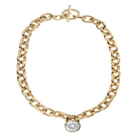 Kette Michael Kors michael kors gold tone large link chain lock