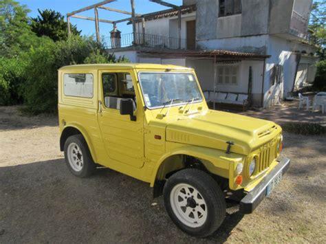 classic jeep suzuki model lj80 vrdan fully restored