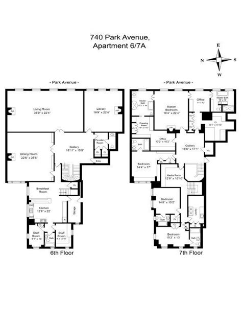 740 park avenue floor plans 740 park avenue east side manhattan scout