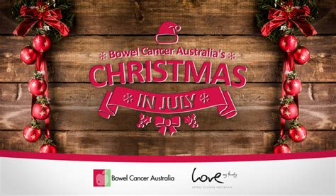 christmas in july bowel cancer australia