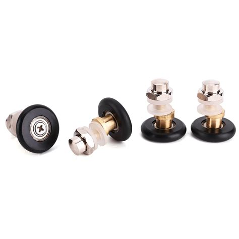 Shower Door Roller Parts 4x Shower Door Rollers Runners Wheels 25mm Replacement Parts Home Ebay