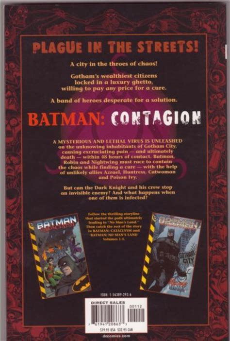 Batman Contagion batman contagion c contagion contagion on collectorz