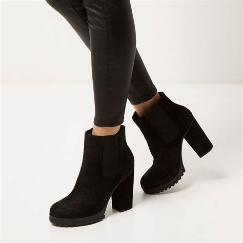 Heeled Ankle Boots heeled black ankle boots boot ri