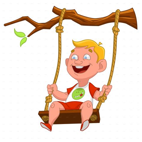png swing child on a swing by gatts graphicriver