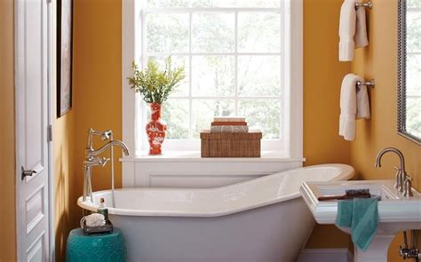 paint colors for bathrooms without windows grey color