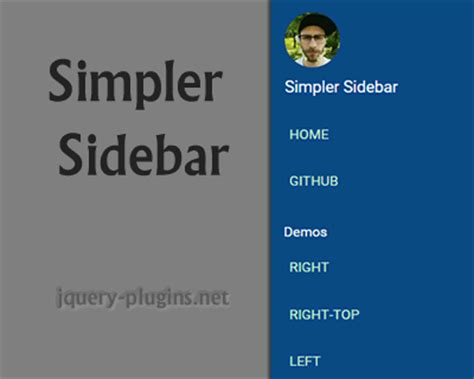 css layout right sidebar menu category jquery plugins page 3