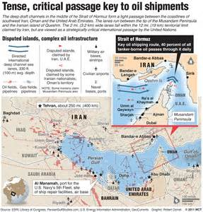 middle east map strait of hormuz iran s revolutionary guards said preparing for war in