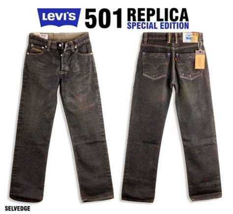 Celana Factor Size 36 Blue levis replica organic cotton blue jual celana