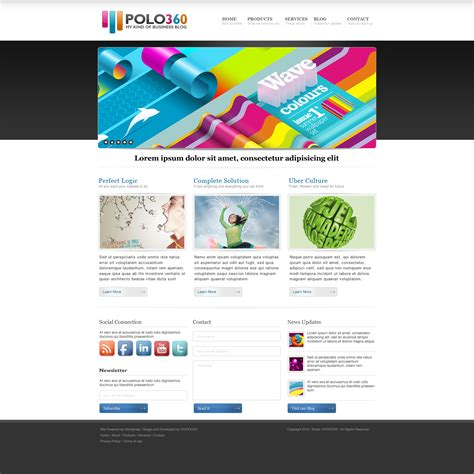 free psd web templates 35 free high quality website templates in photoshop psd