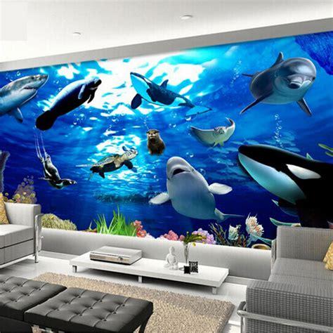 popular dolphin wall mural buy cheap dolphin wall mural