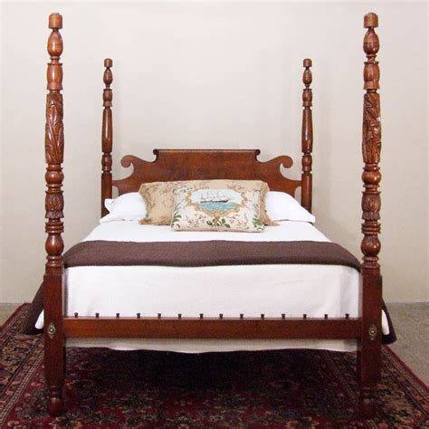 antique bed tall post antique bed traditional beds boston by
