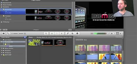 how to create custom templates in apple imovie 171 operating