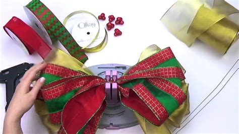 christmas bow topper diy bow genius tree topper with small bows diy tree bow