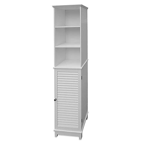 bed bath and beyond summit buy summit tall cabinet tower in white from bed bath beyond