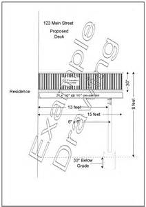 How To Draw A Site Plan For A Building Permit Residential Building Permit Requirements