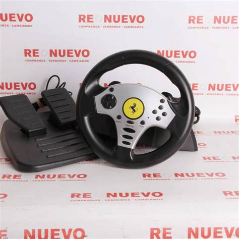 volante ps3 thrustmaster volante thrustmaster racing wheel para ps2 ps3 segunda