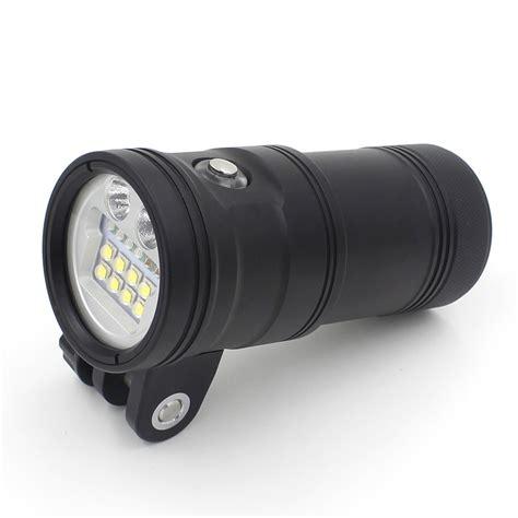 High Power 2 X Uv9 Flashlight Type 10000 Lumens Diving Led