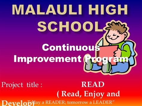 continuous improvement project