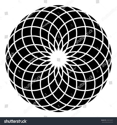 geometric designs using circles royalty free circle mandala vector geometric logo