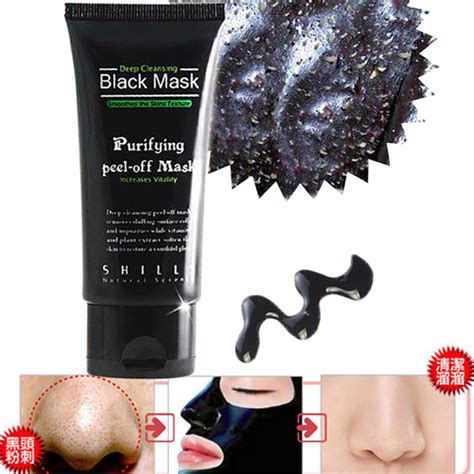 Shills Black Mask Cleansing 100 Original 2 shills purifying cleansing peel black mask shopee malaysia