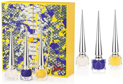 Modelco Limited Edition Collection Colour Coffret by New Christian Louboutin 2015 Nail Lacquers Python