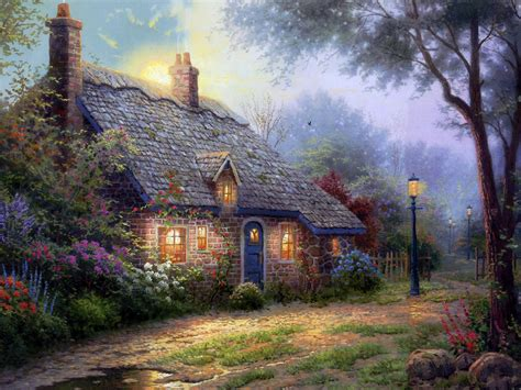 paintings of cottages i want to live in your paintings amanda s camelot