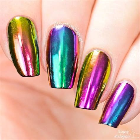 rainbow chrome rainbow chrome powder shopping pakistan nail