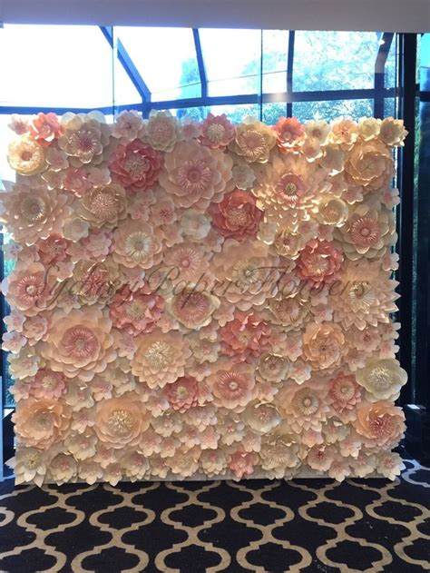 wedding flower wall hire 156 best paper flowers and backdrops by ivanova images on paper flowers