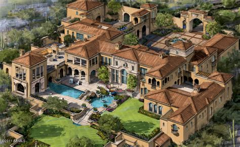 large estate house plans mansions more incredible arizona mansion to be built in 2014