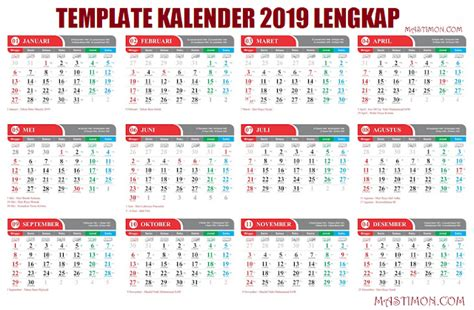 kalender  libur   calendar printable