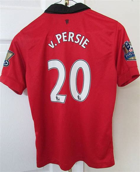 Jersey Mu Rvp nike manchester united robin persie 20 jersey youth large euc ronsusser