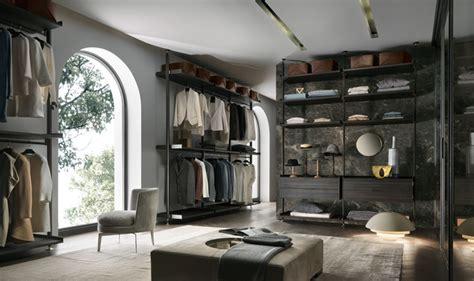 living in a walk in closet rimadesio sliding systems living area complements