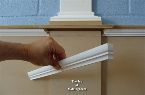 Wainscot Molding Profiles Wainscoting 109 Part 4 Wraping The Bed Molding The
