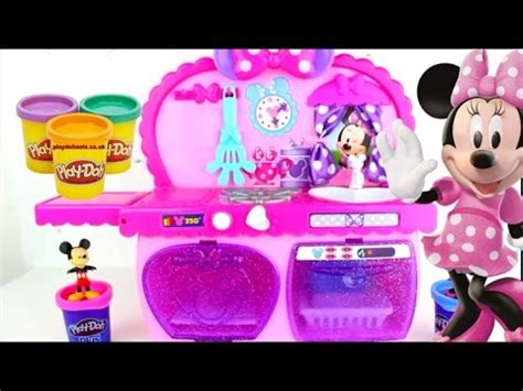 la cuisine de minnie jouets cuisine de minnie mouse kitchen cupcake g 226 teau