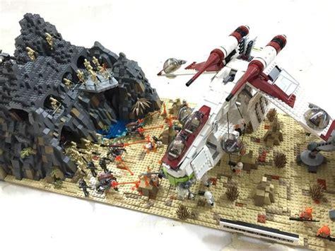 hutte wars lego wars mocs search z wars