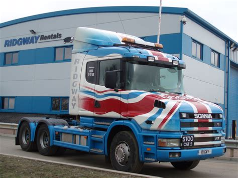 scania t cab re paint for jubilee news