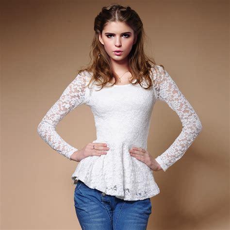 imagenes de blusas blancas con encajes blusas de encaje blancas