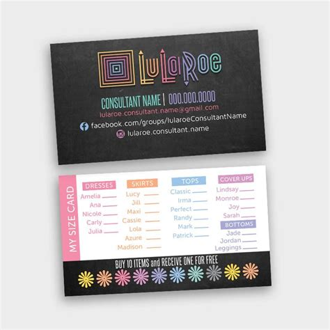 Should I Add Mba To My Business Card by 25 Best Ideas About Lularoe Business Cards On