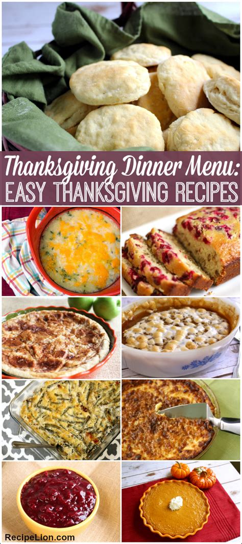 and easy dinner menu thanksgiving cooking tips you ve probably never heard