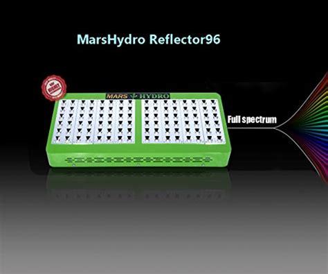 marshdyro reflector led grow light full spectrum etl