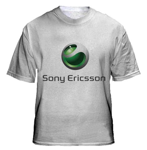 sony ericsson collections t shirts design
